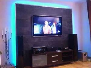 Tv Panel Selber Bauen : led tv wand selber bauen cinewall do it yourself m bel ~ Lizthompson.info Haus und Dekorationen