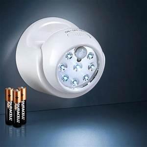 Leuchte Mit Batterie : batterie sensor leuchte 3 jahre garantie pro idee ~ Kayakingforconservation.com Haus und Dekorationen