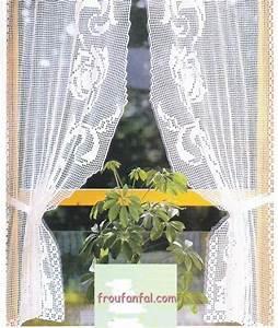 Rideaux Bonne Femme : rideau bonne femme au crochet guirlande avec tuto activite manuelle pinterest crochet ~ Teatrodelosmanantiales.com Idées de Décoration