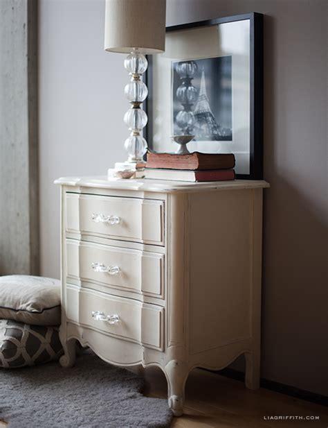 Hand Painted Furniture using Annie Sloan Chalk Paint   Lia