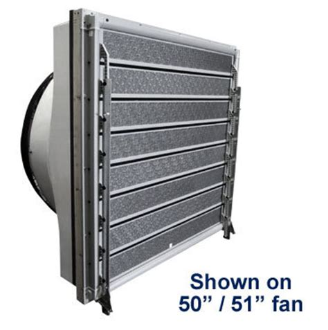 whole house fan shutter topjet insulated shutter pvc gravity shutter for hog 1498