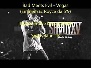 Eminem Royce Da 5399 Vegas Lyrics YouTube