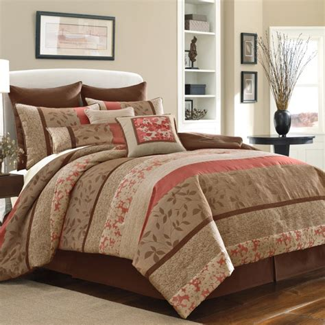 bed bath beyond bedspreads bed bath beyond bedding coral and brown i like this