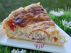 Cuisiner Avec Thermomix : tarte jambon ricotta thermomix blog cuisine thermomix ~ Melissatoandfro.com Idées de Décoration