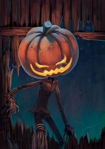 Pumpkin Man by starryjohn on DeviantArt