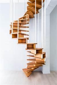 Escalier En Colimaçon : escalier colima on olmo escaliers en bois de jo a ~ Mglfilm.com Idées de Décoration