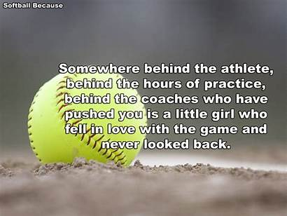 Softball Quotes Coach Fastpitch Motivational Pitcher Players