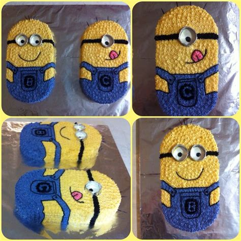 Minion Template For Cake 17 Best Ideas About Minion Cake Decorations On