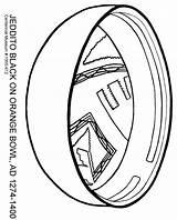 Oblique Jeddito sketch template