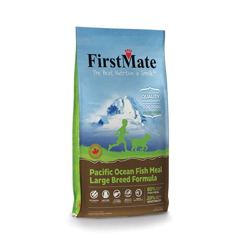 mate pacific ocean fish large breed dog food