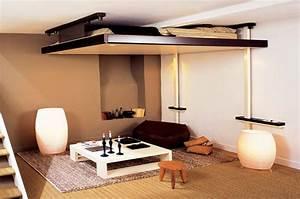 Lit Escamotable Plafond : lit escamotable plafond prix place lit mural vasp ~ Premium-room.com Idées de Décoration