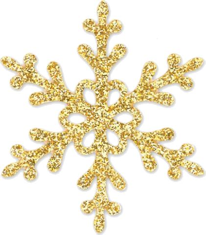 Transparent Background Gold Snowflake Png by Glitter Snowflake Pepeljugica Trendme Net
