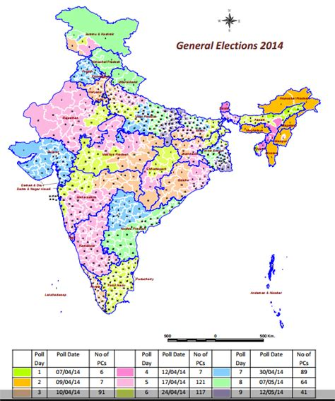 general election schedule india