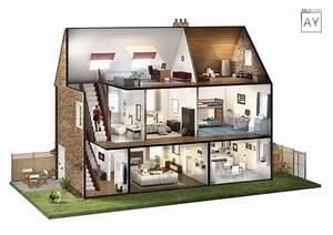 Lloyds House Cutaway Diagram - Atelier York