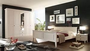 Schlafzimmer kiefer massiv wei im landhausstil bolzano for Schlafzimmer weiß massiv