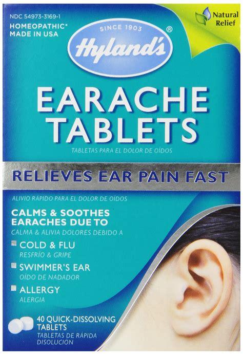 Amazoncom Hylands Earache Homeopathic Formula 40