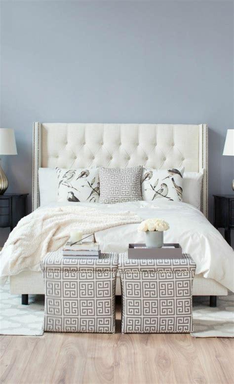 la chambre coucher les meilleures variantes de lit capitonné dans 43 images