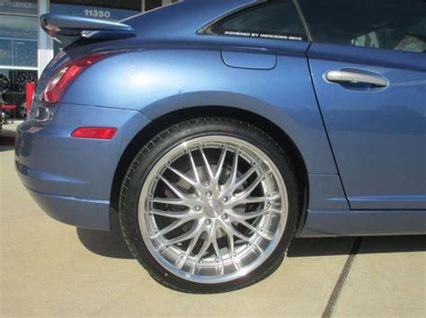 Chrysler Crossfire Tires by Chrysler Crossfire Custom Wheels Mrr Gt 1 19x8 5 Et