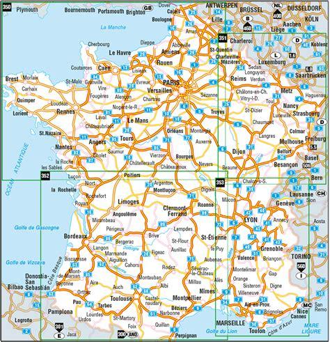 Autobahnraststätten Deutschland Karte