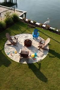 Strandfeeling Im Garten : feuerstelle mit sand garten ideen garten feuerstelle und sandkasten ~ Yasmunasinghe.com Haus und Dekorationen