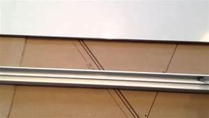 montage portes coulissantes darwin castorama youtube With montage porte placard coulissante