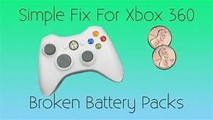 How To Fix Broken Battery Pack For Xbox 360 Controller