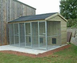 multi purpose sheds With multi run dog kennels