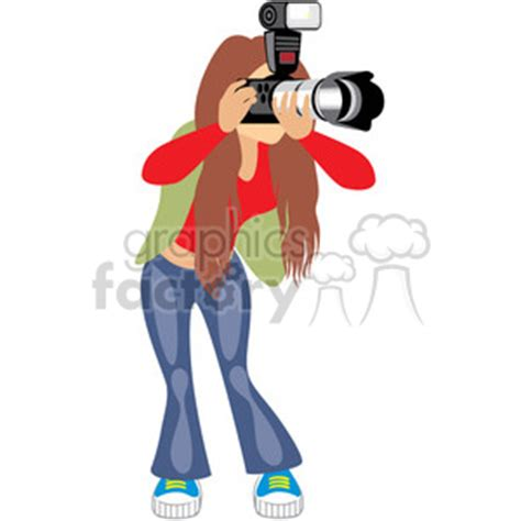 13237 photographer taking a picture clipart royalty free taking photos 393662 vector clip