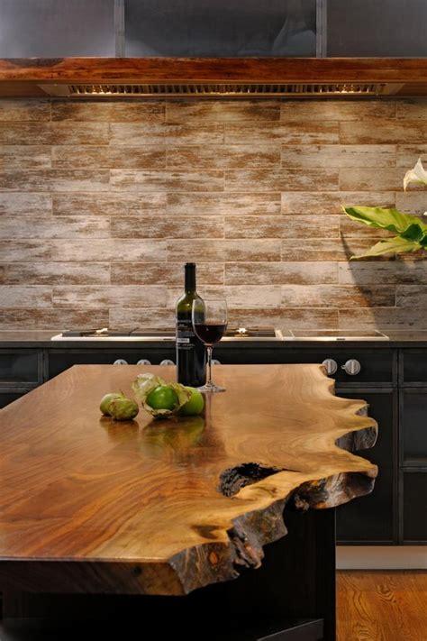 rustic countertops  add coziness   home