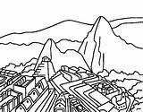 Machu Picchu Coloring Dibujo Colorear Dibujos Pintar Colorir Transparent Maravillas Mundo Peru Pichu Dibujar Imagui Dibuixos Coloriage Colorare Rex Draw sketch template