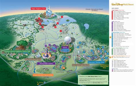 map  walt disney world resort wdwinfocom