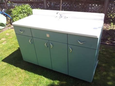 Youngstown Kitchen Sink Cabinet Craigslist metal youngstown kitchen cabinet mid century mod