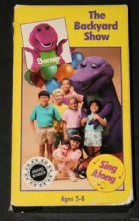 Barney And The Backyard Vhs by Barney Three Wishes The Backyard Sing Along Ages 2 8