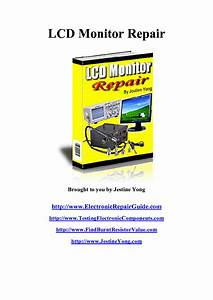 Lcd Monitor Repair Guide Service Manual Download