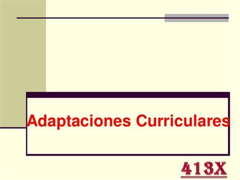 Adaptaciones Curriculares413x