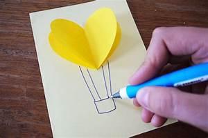 Sachen Selber Gestalten : 3d karten mit herzen mit kindern basteln ~ Orissabook.com Haus und Dekorationen