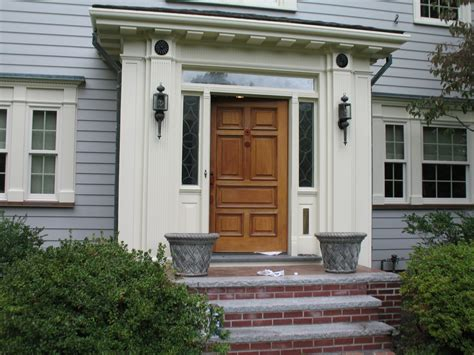 exterior paint recommendation  wood doors painting