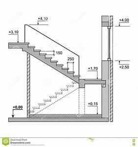 Rampe Berechnen : escadas do projeto do esbo o no fundo branco vetor ilustra o do vetor ilustra o de ~ Themetempest.com Abrechnung