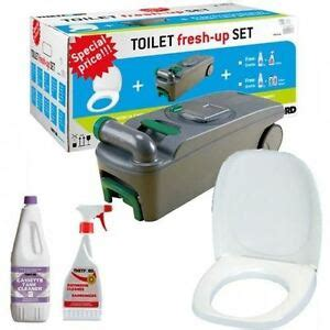 caravan thetford c400 cassette toilet fresh up kit inc holding tank nxt day 8710315002003