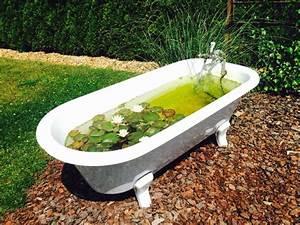 Badewanne Freistehend Für Garten : die besten 25 alte badewanne ideen auf pinterest entspannenden bad unkonventionelles ~ Markanthonyermac.com Haus und Dekorationen