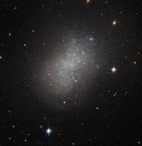 Hubble Space Telescope Spies Dwarf Irregular Galaxy NGC ...