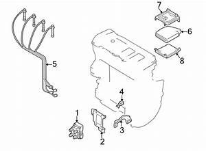 Mazda 626 Engine Control Module Bracket  2 0 Liter  2 5
