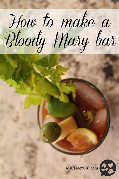 how to make a bloody entertaining idea how to make a bloody mary bar paperblog