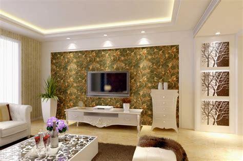 Wohnzimmer Tapeten Ideen Modern by Attractive Modern Living Room Interior Decorating Ideas