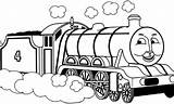 Thomas Friends Coloring Everfreecoloring sketch template