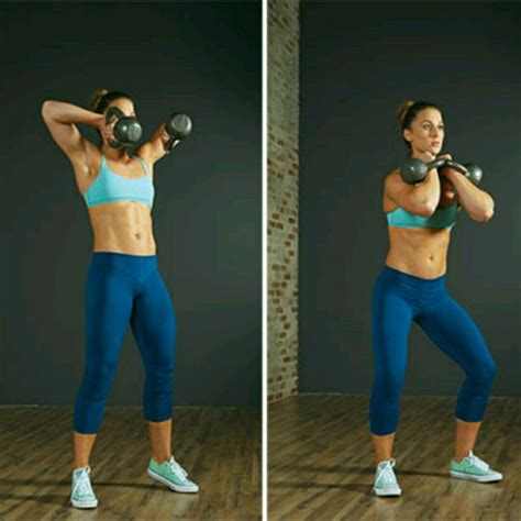 double kettlebell clean exercise skimble workout exercises
