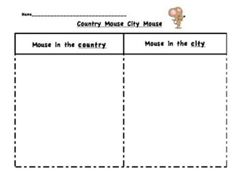 country mouse city mouse comparison  jenna dimascio tpt