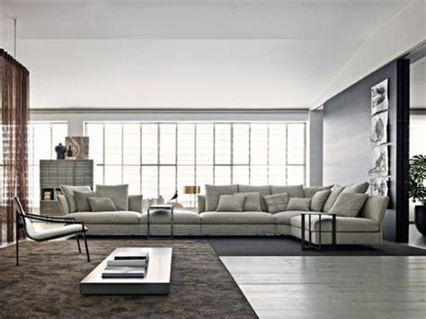tres grand canapé d angle très grand canapé d 39 angle en tissu gris clair salon