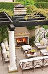 TOP 12 STUNNING FIREPLACES FOR LUXURY OUTDOOR LIVING outdoor patio living