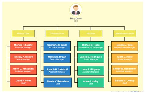 full form of organisations types of organizational charts organization structure